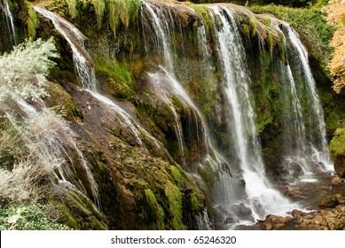 Marmore Falls in Terni, Umbria Italy