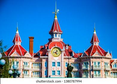 Marne la Valle, France,The Disneyland Hotel in Disneyland Resort Paris