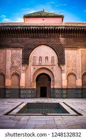 Marocco Mosque Backyard