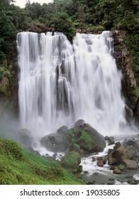 Marokopa Falls, King Country, North Island, New Zealand