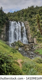 Marokopa Falls located at New Zealand. A hidden gem near Waitomo Caves.