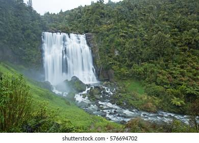 Marokopa Falls, New Zealand, North Island
