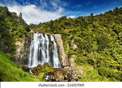 Marokopa Falls, North Island, New Zealand