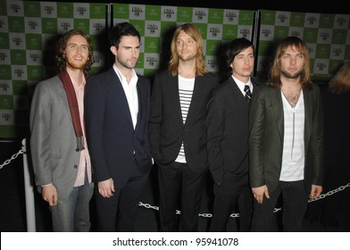 MAROON 5 at the 16th Annual Environmental Media Awards at the Ebell Club, Los Angeles. November 8, 2006  Los Angeles, CA Picture: Paul Smith / Featureflash