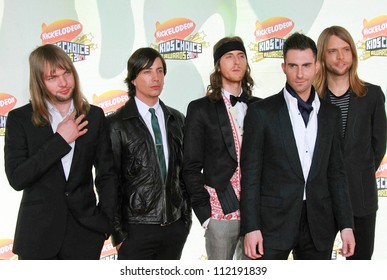 Maroon 5 at Nickelodeon's 20th Annual Kids' Choice Awards. Pauley Pavillion, Westwood, CA. 03-31-07