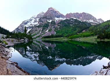 Maroon Bells, Aspen, Colorado, USA.