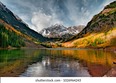 Maroon bells colorado fall foliage colors aspen fall colors landscape and nature travel and holiday. One of the best fall colors and amazing fall colors in united states