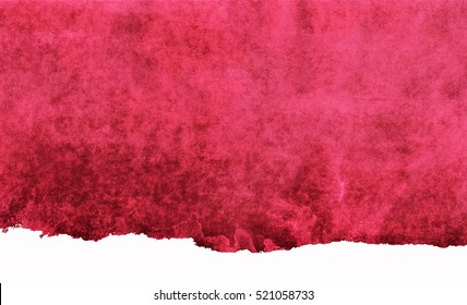 maroon watercolor background, the color of red wine, watercolor spot in shades of red