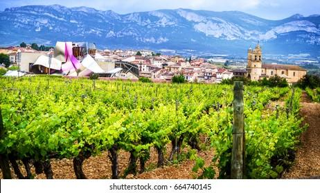 Marques de Riscal, Elciego, Rioja, Spain