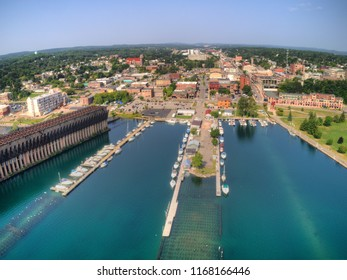Marquette, Michigan is a port city on the shores of Lake Superior