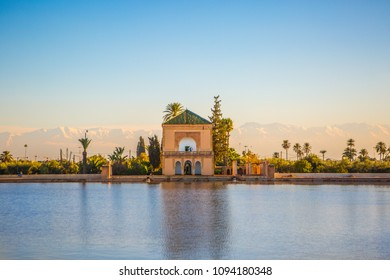 Marrakech Menara Golden Hour