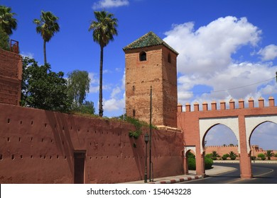 Marrakech Old City Walls, Morocco