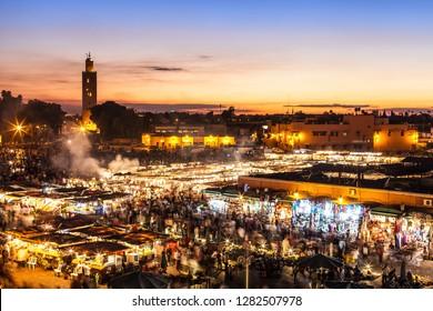 Marrakesh, Djemaa el fna