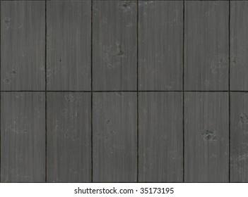 Marred Steel Panels