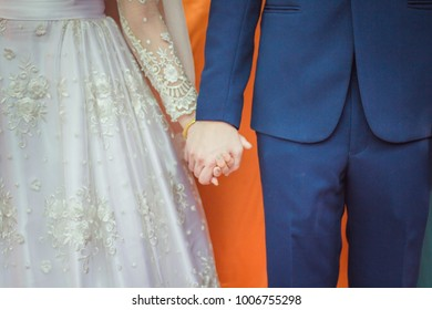 Marriage, the marriage of a man and a woman.The bride and groom, husband, wife and a loving family,Valentine.