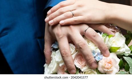 結婚式で取った結婚指輪