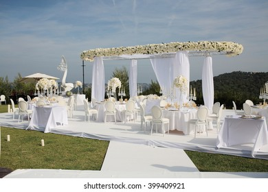 Marriage stage stock images royalty free images vectors marriage stage decoration at the mountain junglespirit Gallery