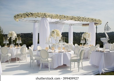 Stage decoration images stock photos vectors shutterstock marriage stage decoration at the mountain junglespirit Images