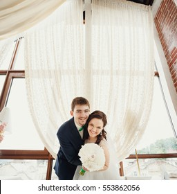 Married at the restaurant by the window