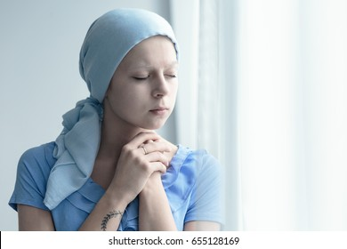 Married woman with cancer faithfully praying for miracle of healing