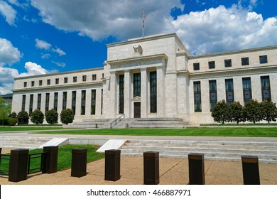 Marriner S. Eccles Federal Reserve Board Building is situated in Washington D.C., USA. It is named after Marriner S. Eccles who was Chairman of the Federal Reserve in 1982.