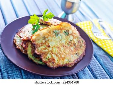 marrow pancakes