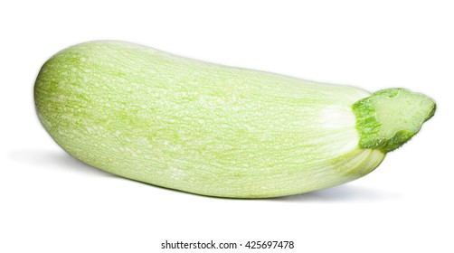 Marrow squash isolated on white with clipping path