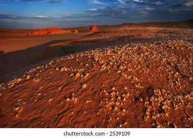 Mars landscape.