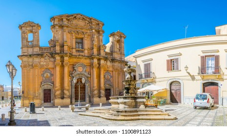 MARSALA, ITALY, APRIL 21, 2017: Chiesa del Purgatorio in Marsala, Sicily, Italy
