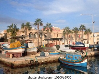 Marsaxlokk (fishing village in the South of Malta)
