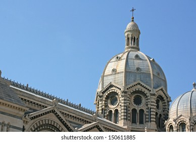 Marseille Cathedral .