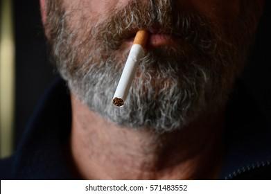Marseille, France - February 01, 2017 : Cigarette