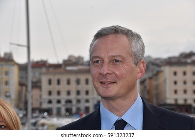 Marseille, France - March 02, 2017 : Bruno Le Maire