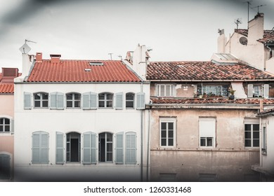 MARSEILLE, FRANCE - May 20, 2018: View on the old town of Marseille in France