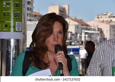 Marseille, France - May 23, 2017 : Rally against the Glyphosate