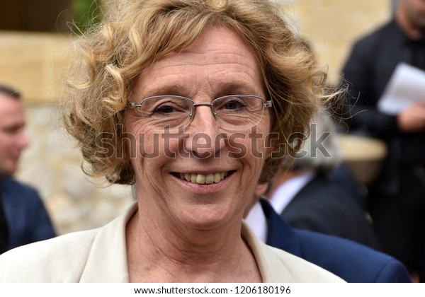 Marseille, France - October 13, 2017 : Muriel Penicaud, french Minister of Labor
