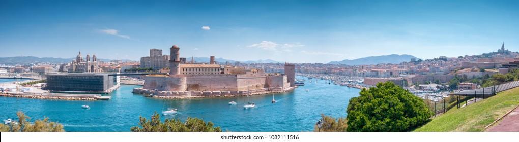 Marseille panoramic view
