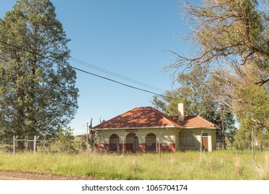 MARSEILLES, SOUTH AFRICA - MARCH 12, 2018: The post office building in Marseilles, a village in the Free State Province