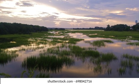 Marsh in the Evening, Charleston SC
