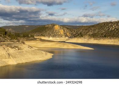 Marsh view Entrepenas, guadalajara, Spain