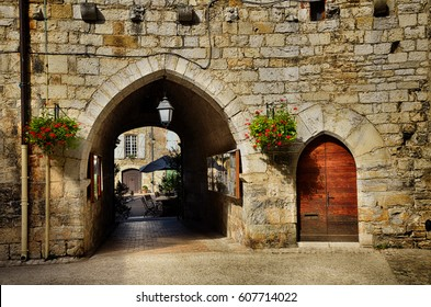 Martell, a small and lovely medieval town in the famous and touristic area of Dordogne river.