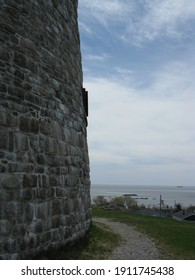 A Martello tower in Saint John, NB taken in 2009. A filtered version of this photo was used for the background for a music album cover by Solotet, the photographer's music project.