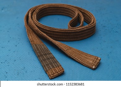 Martial Arts Brown Belt Brazilian JiuJitsu spiral medium