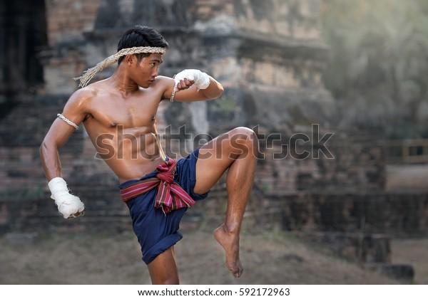 Martial arts of Muay Thai,Thai Boxing, Muay Thai.