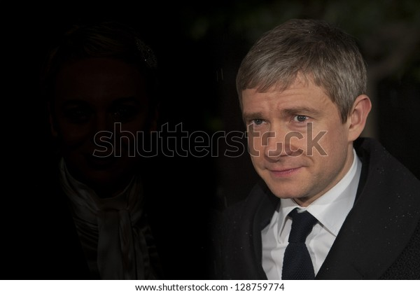 Martin Freeman arriving for the 2013 BAFTA After Party, Grosvenor House Hotel Park Lane, London. 10/02/2013 Picture by: Simon Burchell