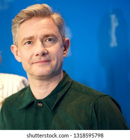 Martin Freeman poses at the 'The Operative' (Die Agentin) photocall during the 69th Berlinale International Film Festival Berlin at Grand Hyatt Hotel on February 10, 2019 in Berlin, Germany.