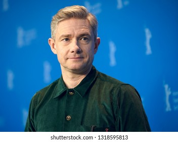 Martin Freeman poses at the 'The Operative' (Die Agentin) photocall during the 69th Berlinale Festival Berlin at Grand Hyatt Hotel on  February 10, 2019 in Berlin, Germany.