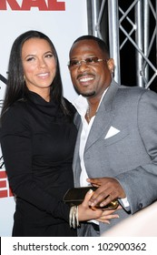 """Martin Lawrence and Shamicka at the """"Death at a Funeral"""" World Premiere, Arclight, Hollywood, CA. 04-12-10"""