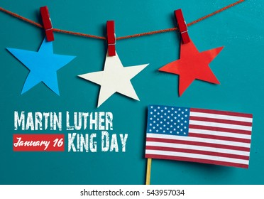 Martin Luther King Day background.