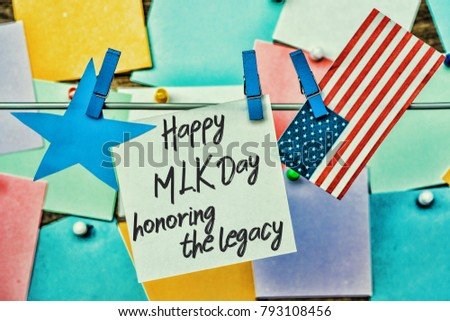 Martin Luther King Day Background Stock Photo Edit Now 793108456